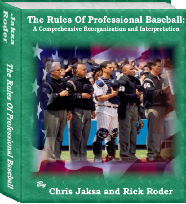Cover - The Rules of Baseball